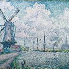 Signac - Canal of Overschie - Poster (24x32IN)