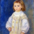 Child in a White Dress (also known as Lucie Berard), 1883 - 24x18 IN Poster