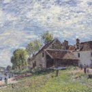 Banks of the Loing at Saint-Mammes in Summer, 1883 - A3 Poster