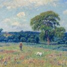 Landscape with a Hunter and His Dog, 1901 - 24x18 IN Poster