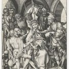 The crowning with thorns. 1470-1490 - A3 Poster