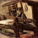 Weaver2 - 24x18 IN Canvas