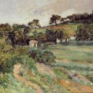 Landscape in Provence, 1875 - A3 Poster