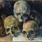 Pyramid of Skulls, 1900 - A3 Poster