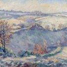 Crozant, View of Charraud Bridge, 1905 - 30x40 IN Canvas