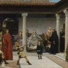 Alma-Tadema - Education of the children - A3 Poster