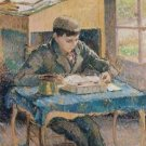 Portrait of Rodo Reading, 1893 - A3 Poster