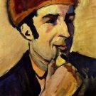 Portrait of Franz Marc by Macke - 24x18 IN Poster