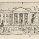 The White House No 1, 1925 - A3 Poster
