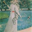 In Luxomburg garden by Felix Vallotton - A3 Poster