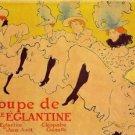 Mlles Eglantines 2 by Toulouse-Lautrec - A3 Poster