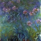 Jewelry lilies by Monet - 30x40 IN Canvas