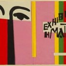 Henri Matisse - Design for cover of Exhibition H. Matisse - A3 Poster