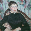Portrait of Young Woman, 1889 - A3 Poster