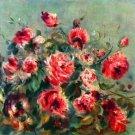 Still life roses of Vargemont - A3 Poster