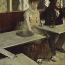 Degas - In a cafe - A3 Poster
