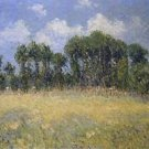 Landscape with Poplars - A3 Poster