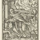 Monk and Death. 1524-1538 - 24x32 IN Canvas