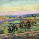 Landscape of the Creuse - 24x32 IN Canvas