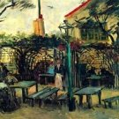 Terrace of a Cafe - 30x40 IN Canvas