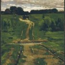 A Back Road, 1884 - 30x40 IN Canvas