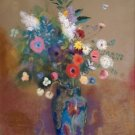 Bouquet of Flowers, 1905 - 30x40 IN Canvas