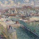 Port of Fecamp, 1925 - 30x40 IN Canvas