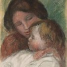 Suzanne and Jean, 1895 - 30x40 IN Canvas