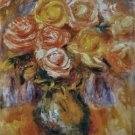 Vase of Roses, 1919 - 30x40 IN Canvas