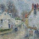 Street of Pontoise, 1914 - 30x40 IN Canvas