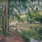 Moret, the Canal of Loing, 1902 - A3 Poster