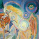 Robert Delaunay - Nude woman reading 2 - A3 Paper Print