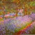 Monet's Garden by Monet - Poster (24x32IN)