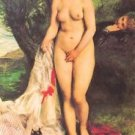 Bather with a Terrier - Poster (24x32IN)