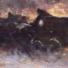 New York Blizzard, 1889 - 24x32 IN Canvas