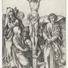 The Crucifixion 1. 1470-1490 - 24x32 IN Canvas