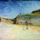 The Ramparts of Paris2 - 24x32 IN Canvas