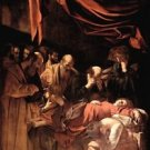 Mary's death by Caravaggio - 30x40 IN Canvas