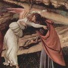 Birth of Christ (Mystic birth) Detail 2 by Botticelli - A3 Poster