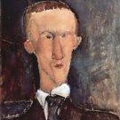 Modigliani - Portrait of Cendras - A3 Poster
