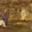Croquet Party by Manet - A3 Poster