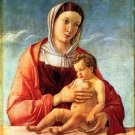 Madonna 2 by Bellini - A3 Poster