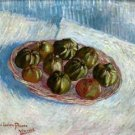 Basket of apples by Van gogh - A3 Poster