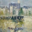 The Bridge of Moret-sur-Loing, 1927 - 24x18 IN Poster