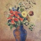 The Blue Vase, 1900 - 24x18 IN Canvas