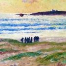 Coast of Brittany, 1906 - 24x18 IN Canvas