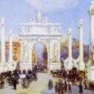 Dewey's Arch, 1900 - 24x18 IN Canvas
