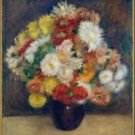 Bouquet of Chrysanthemums, 1881 - 24x32 IN Canvas