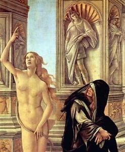 Slander Detail 3 by Botticelli - 30x40 IN Canvas