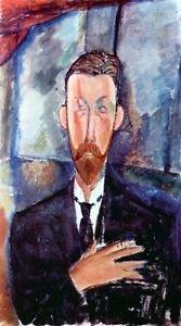 Modigliani - Portrait of Paul Alexanders - 30x40 IN Canvas